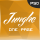 Junghe - One Page Personal Portfolio Templates - ThemeForest Item for Sale