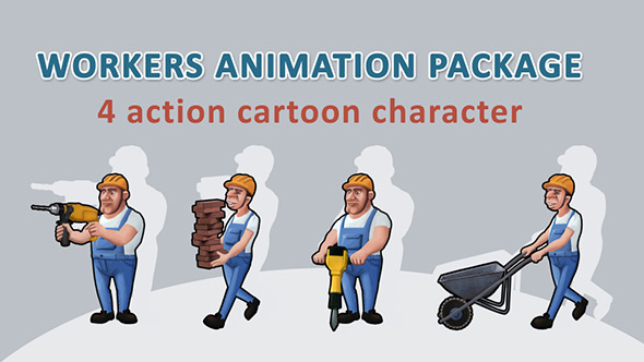Workers Animation Package