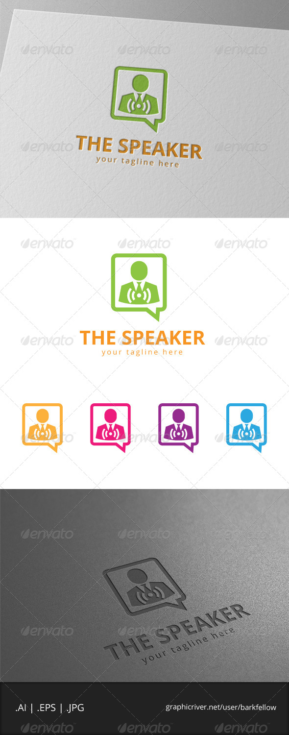 The Speaker Logo