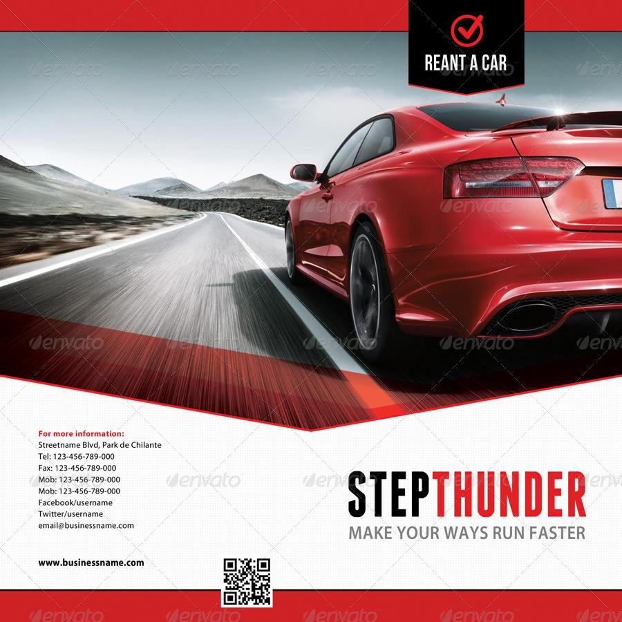 3 in 1 Rent A Car Brochure Bundle 03 by rapidgraf | GraphicRiver