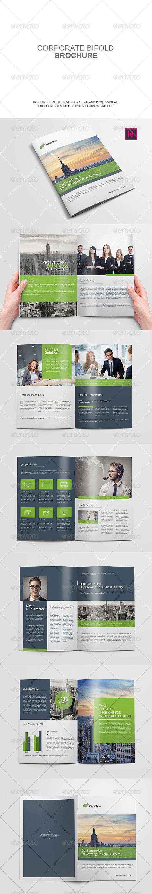GraphicRiver Corporate Bifold Brochure 7990885
