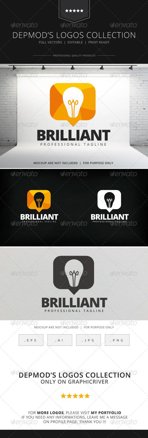 GraphicRiver Brilliant Logo 7990919