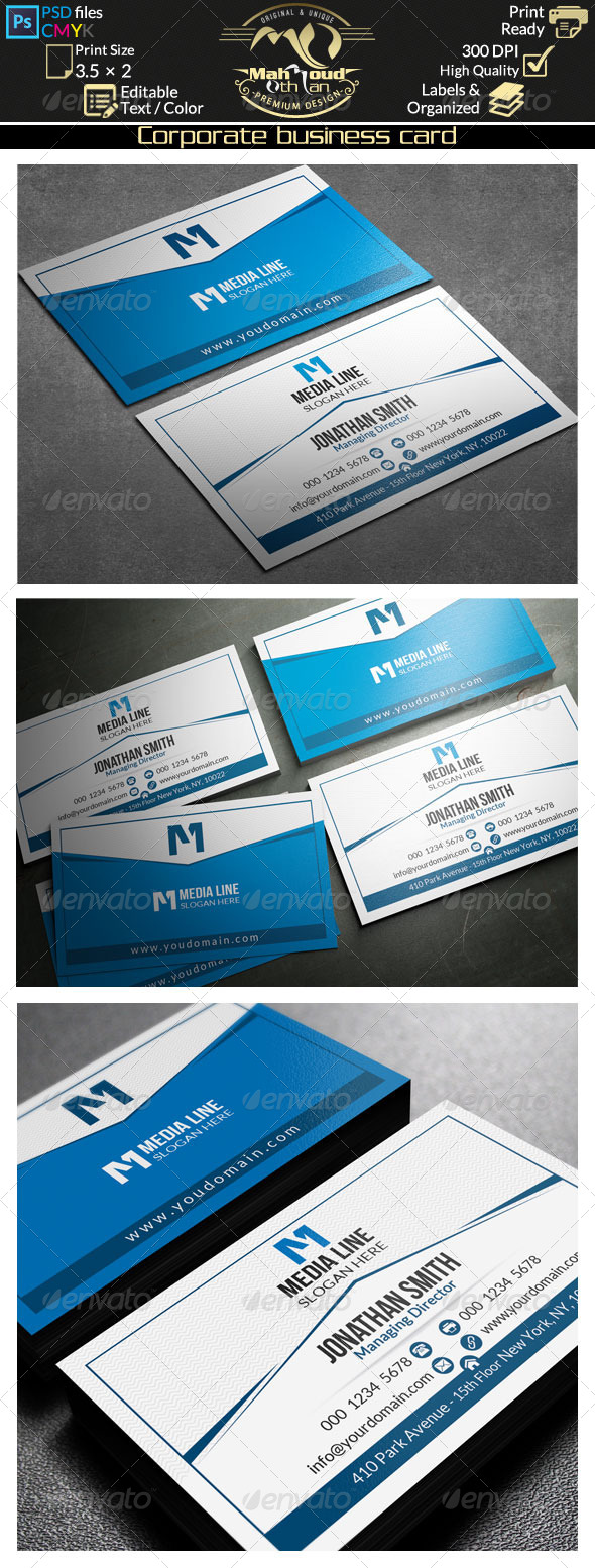GraphicRiver Creative Business Card 32 7990945