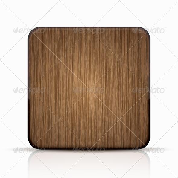 Modern Wooden Icon
