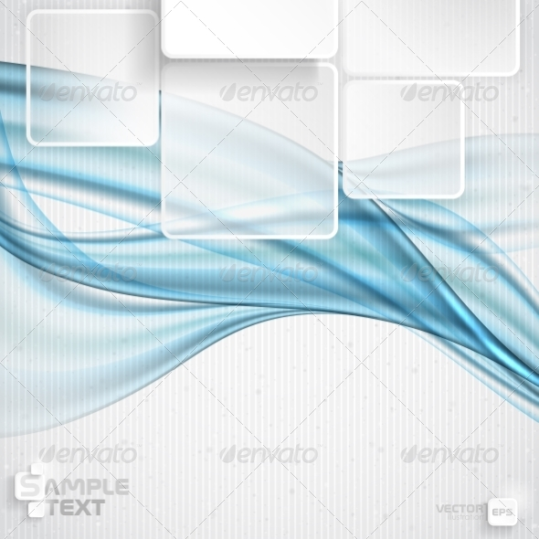 GraphicRiver White Square Element On Stripes Background 7991084