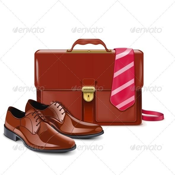 GraphicRiver Vector Businessman Accessories 7991708
