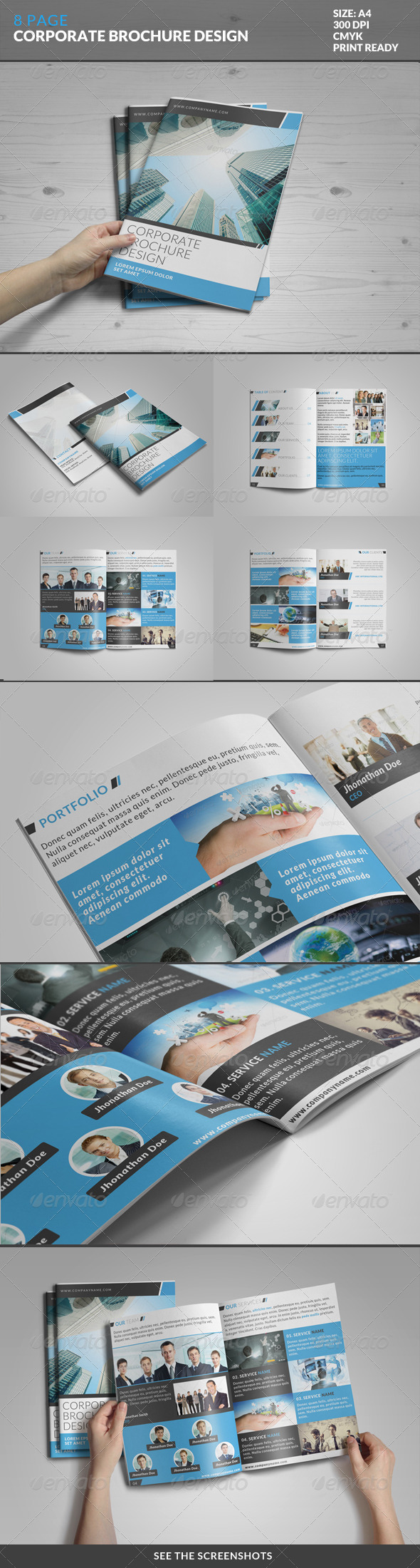 GraphicRiver 8 Page Corporate Bi-Fold Brochure Template 2 7991718