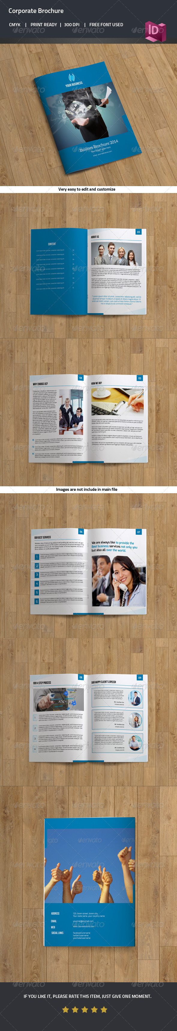 GraphicRiver Bifold Business Brochure 7991931