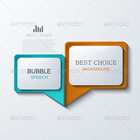 GraphicRiver Vector Modern Bubble Speech Icons Set 7991935