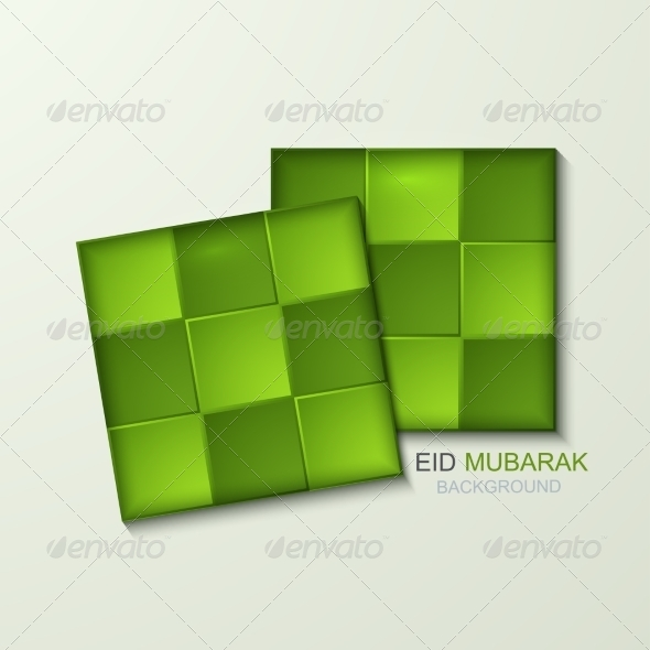 GraphicRiver Vector Ketupat Element Design 7992094