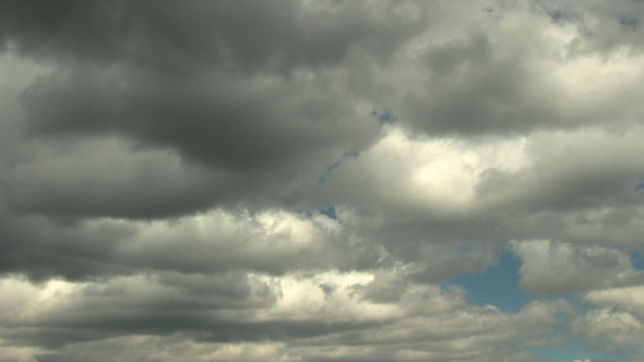 Clouds Moving In The Sky 2