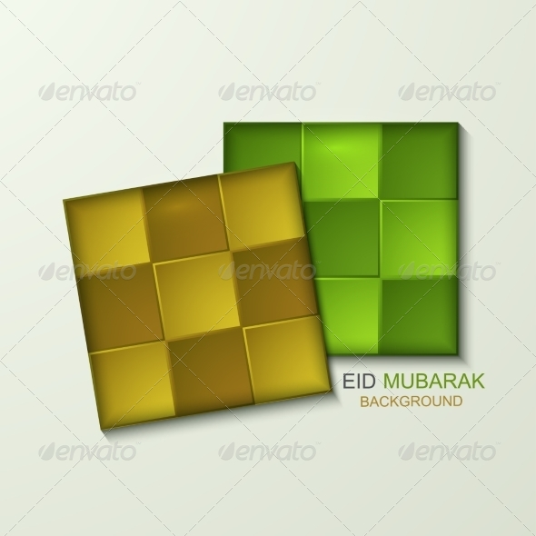GraphicRiver Vector Ketupat Element Design 7992114