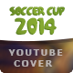 Brazil Soccer Cup 2014 Football - Youtube Cover - GraphicRiver Item for Sale
