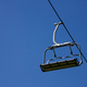 Lonely chairlift on blue sky - PhotoDune Item for Sale