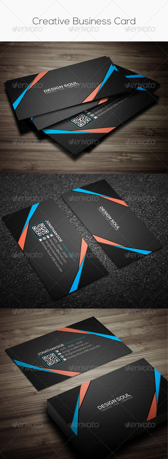 GraphicRiver Creative Business Card 7992736