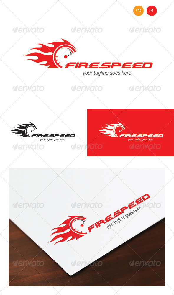 GraphicRiver Firespeed Logo Templates 7965781