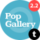Pop Gallery Tumblr Theme - ThemeForest Item for Sale