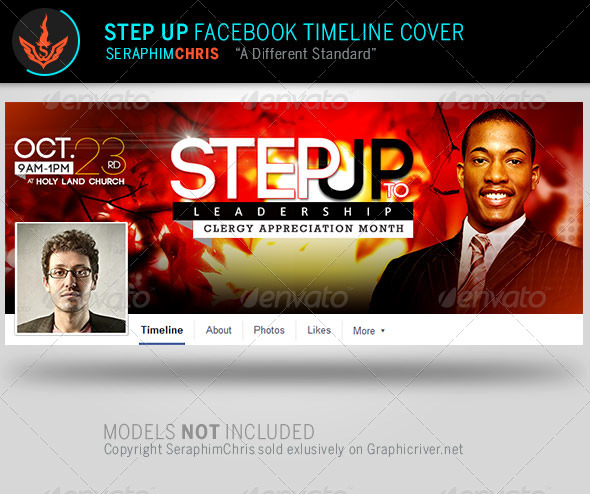 GraphicRiver Step Up to Leadership Facebook Timeline Cover Temp 7993098