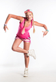 Beautiful girl dancing in studio - PhotoDune Item for Sale