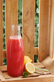 Watermelon juice on bottle - PhotoDune Item for Sale