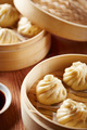 Baozi chinese dumplings on steamer - PhotoDune Item for Sale