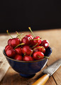 Bowl of ripe cherries - PhotoDune Item for Sale