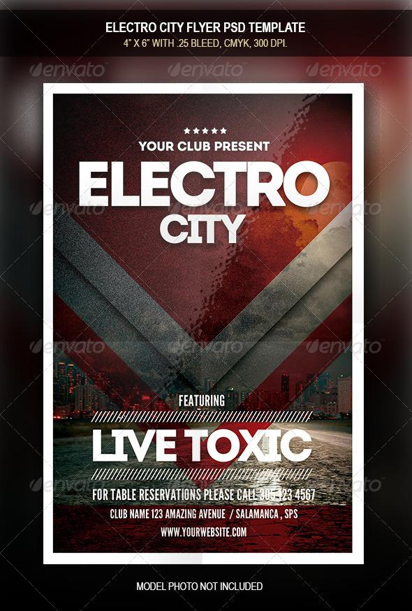 top 50 amazing electro minimal flyer templates psd