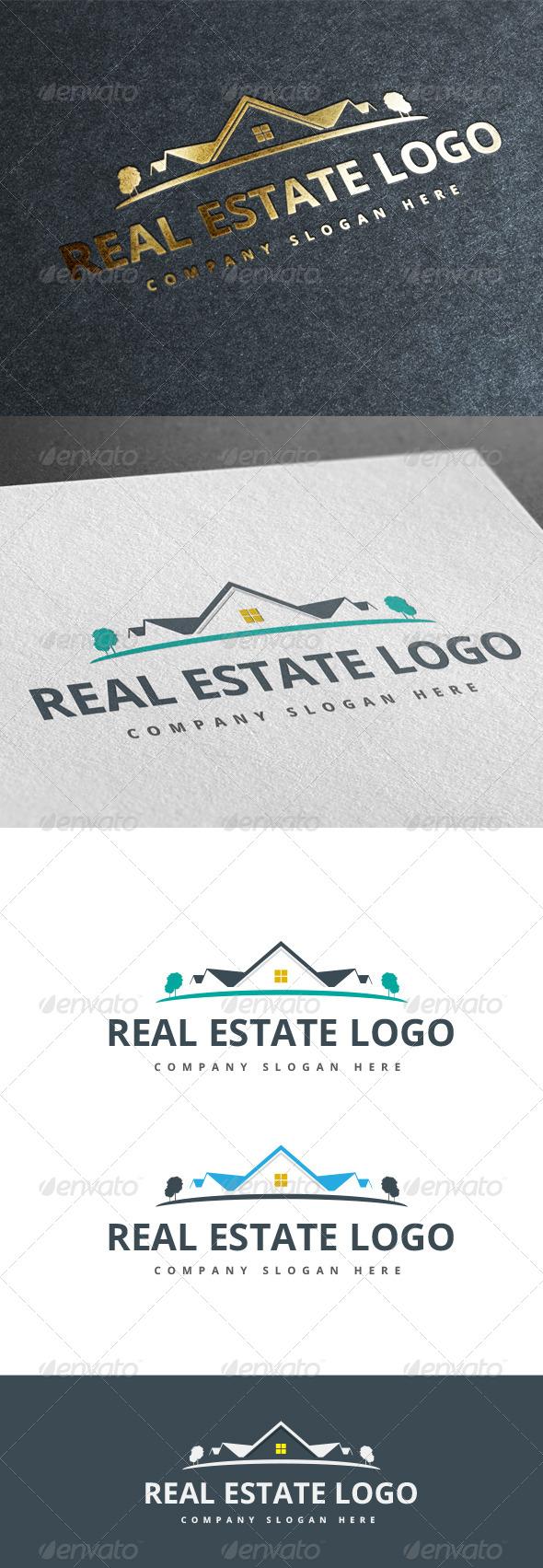 GraphicRiver Real Estate Logo V.2 7993370