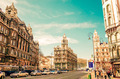 Beautiful street view of historic architectural in Budapest, Hun - PhotoDune Item for Sale