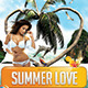Summer Love Party Flyer - GraphicRiver Item for Sale