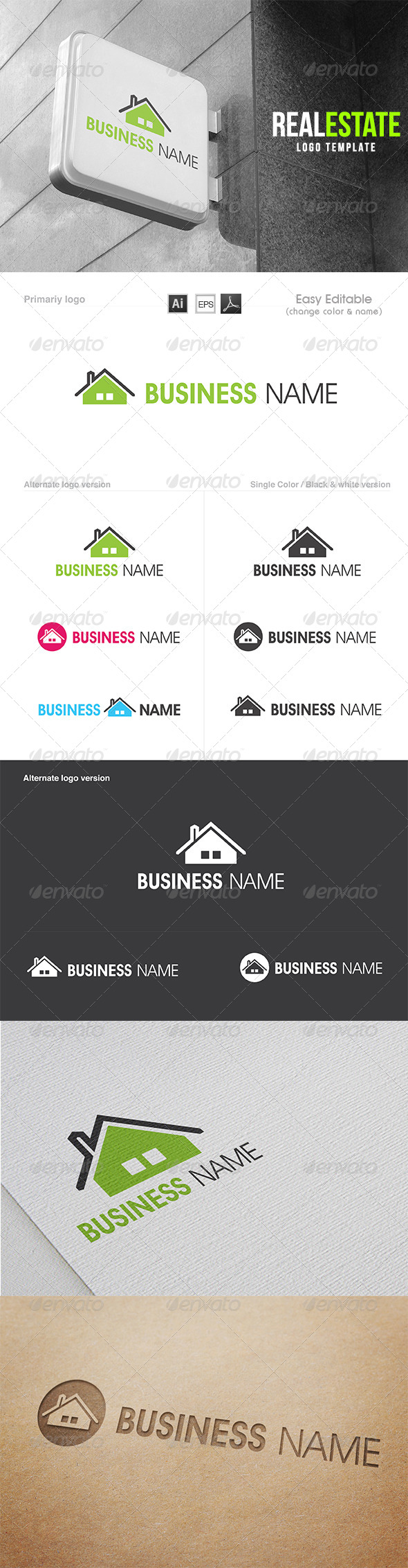GraphicRiver The Real Estate 7994012