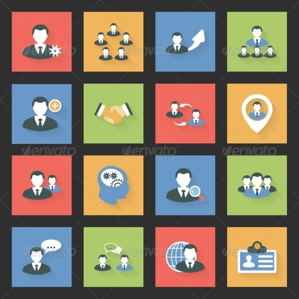 GraphicRiver Interaction Icons Set 7994134