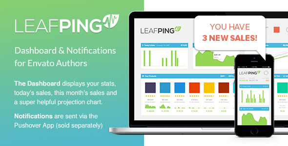 CodeCanyon Leafping Notifications for Envato Authors 7994183