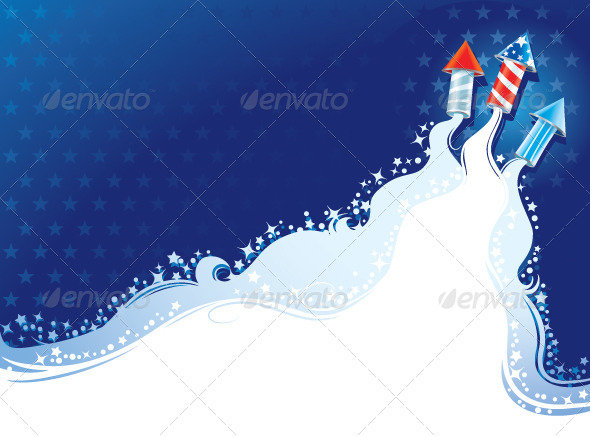 GraphicRiver Fourth of July 7994453
