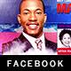 Gospel Concert Facebook Timeline Cover Template - GraphicRiver Item for Sale