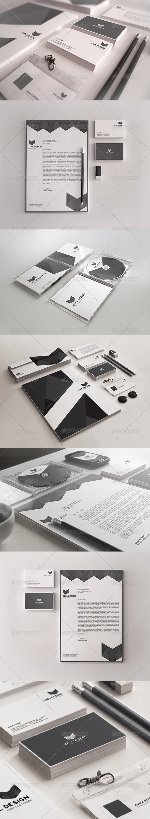 GraphicRiver Cool Design Corporate Identity Package 7994617