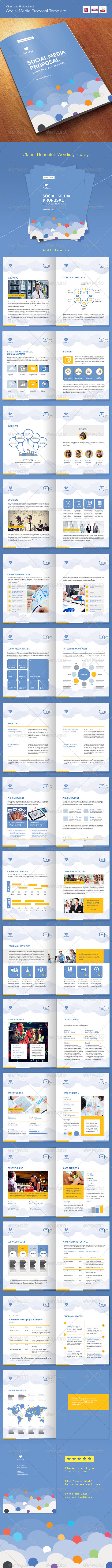 GraphicRiver Social Media Proposal Template 7994619