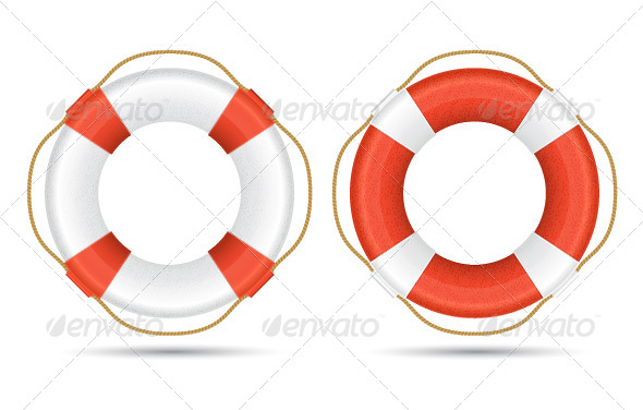 GraphicRiver Life Ring 7994834