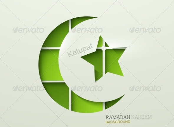 GraphicRiver Vector Ketupat Element Design 7994859