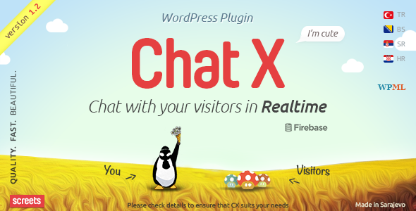 Chat X - WordPress Chat plugin for Sales & Support - CodeCanyon Item for Sale