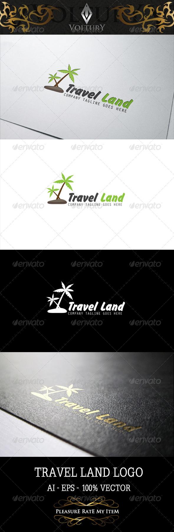 GraphicRiver Travel Land Logo 7994952