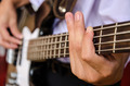 hand for Bass guitar and music - PhotoDune Item for Sale