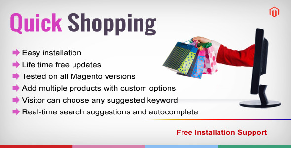 CodeCanyon Magento Quick Shopping 7994974