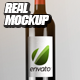 Real Mockup Wine Bottle 4 Sequences