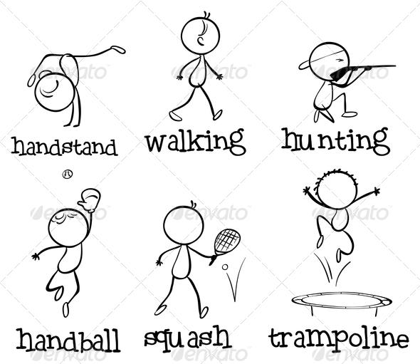 GraphicRiver Different Sports 7995283