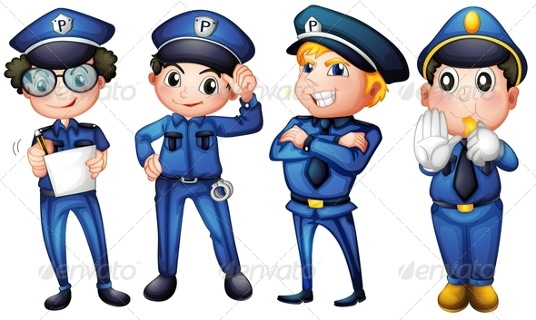 GraphicRiver Policemen 7995653