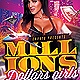 Millions Dollars Girls Party Flyer - GraphicRiver Item for Sale