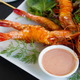 Grilled Skewered Shrimps - PhotoDune Item for Sale