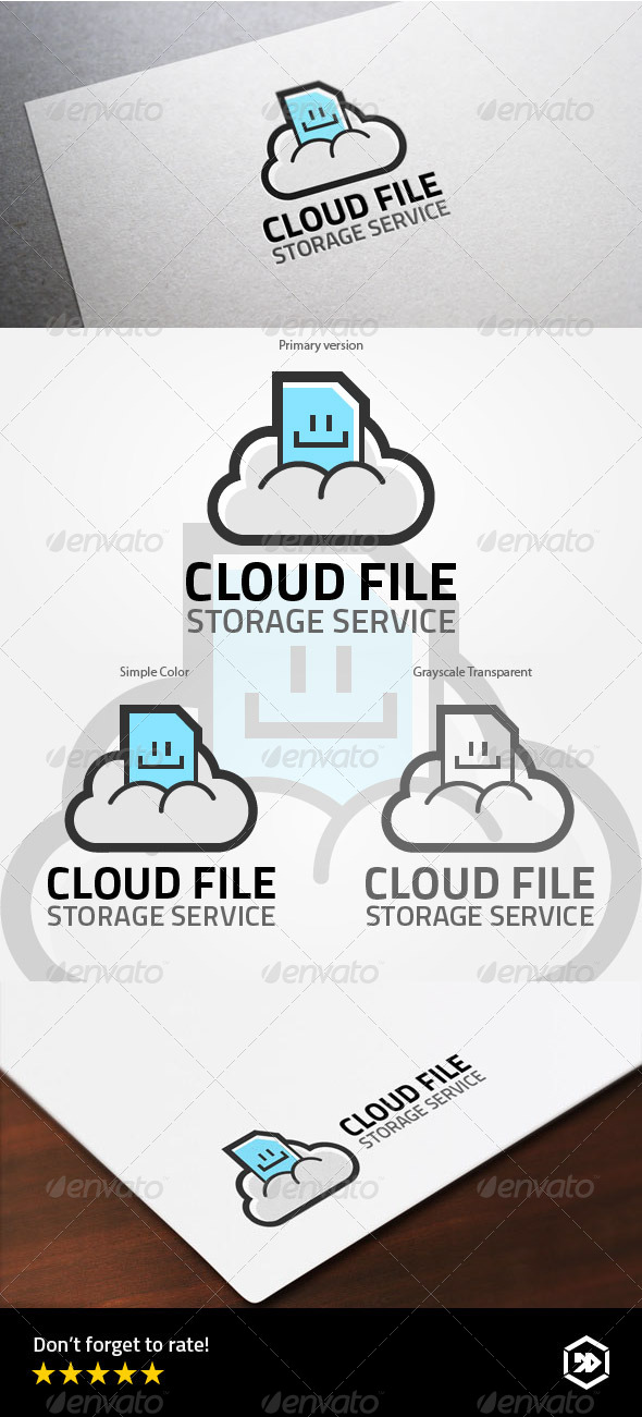 GraphicRiver Smile Cloud File 7995838