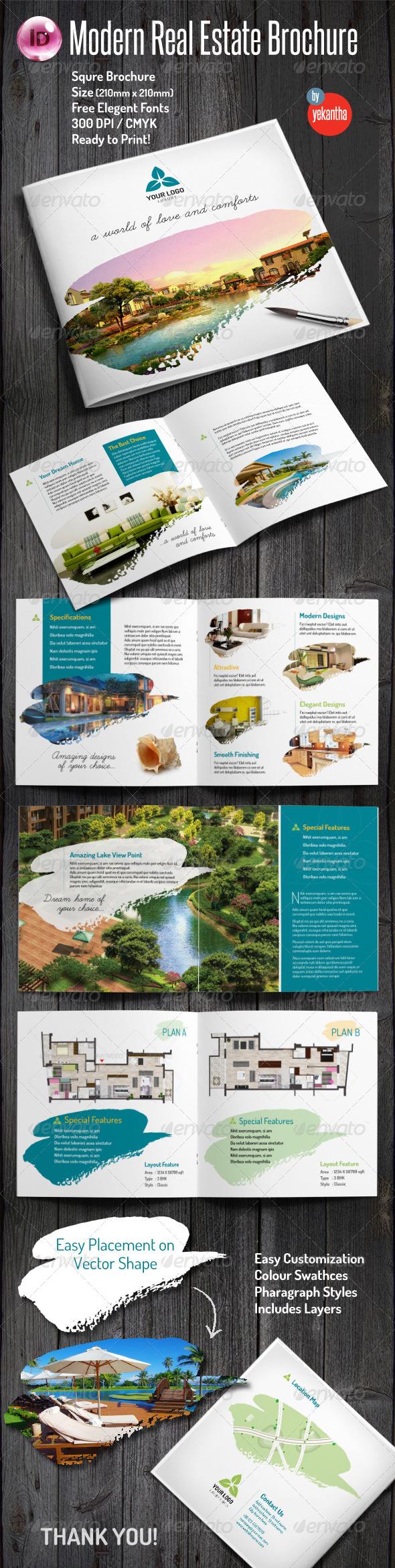 GraphicRiver Modern Real Estate Brochure 7974286